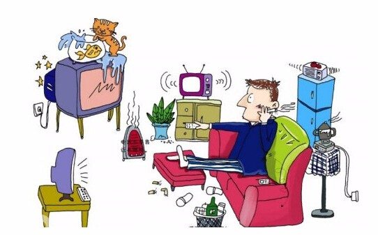 提防家居潜在威胁,四大空间安全用电
