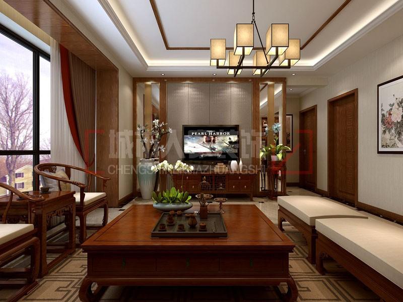 132平米古典古香新中式,精巧设计看这里