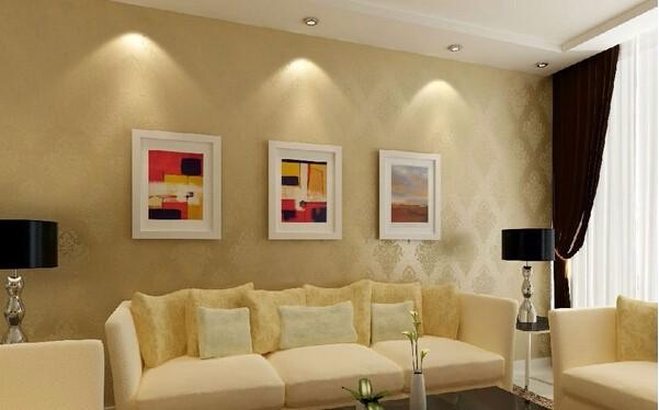客厅墙面装修效果图,不同的风格有不同的选择