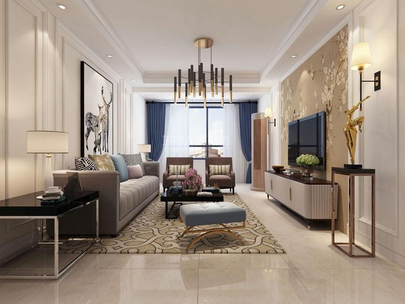 现代简约三居室,简简单单也是不错的选择!