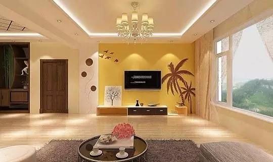 硅藻泥电视背景墙,气质和理想的结合