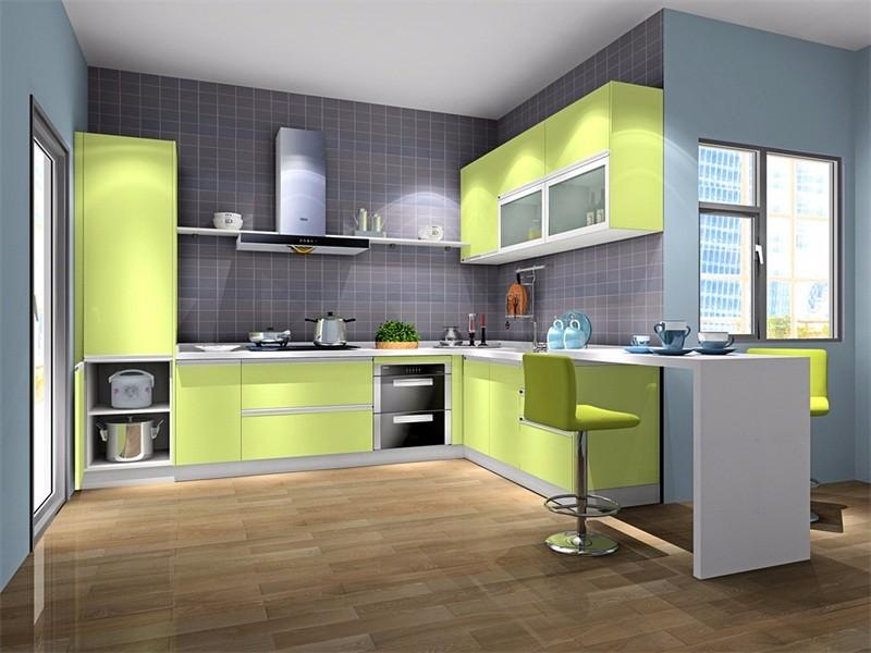l型厨房橱柜装修效果图,带你领略非凡家居风尚