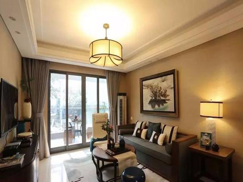 108平米三居室——中式风格装修