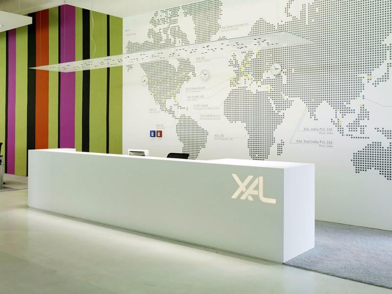 办公室简约装修效果图,进来看看这工作环境你喜欢吗?