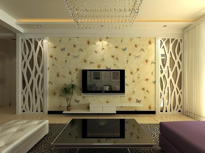 不同材质的电视背景墙装修设计,有你喜欢的吗?