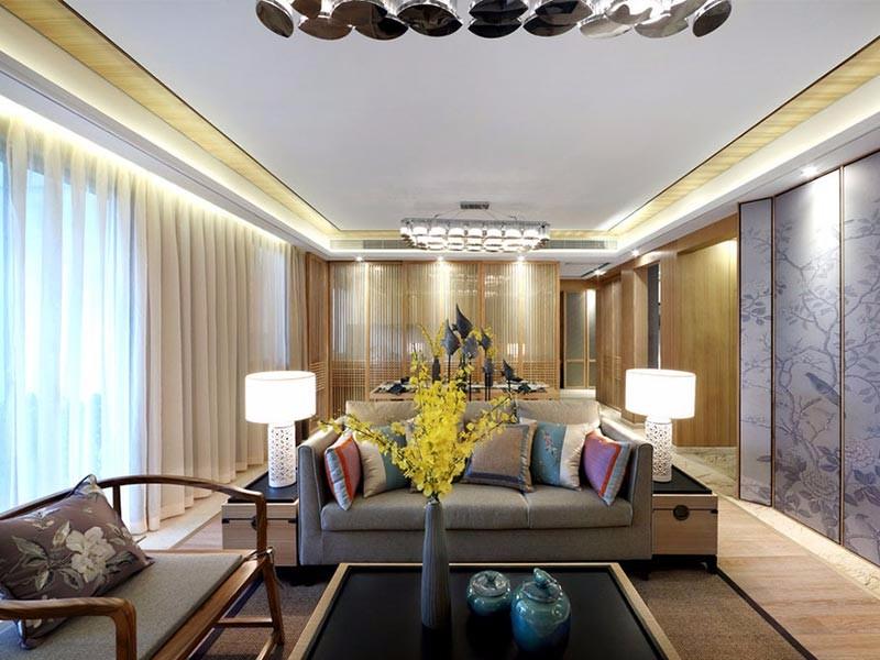 145平米中式装修风格,为你营造清丽雅致的生活空间!