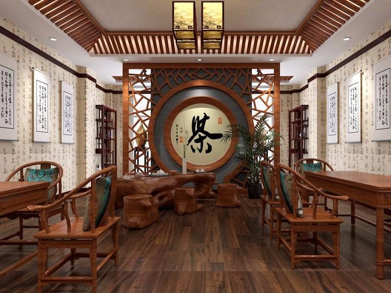 ?家用茶室設計效果圖,這三種風格你最喜歡哪一種?