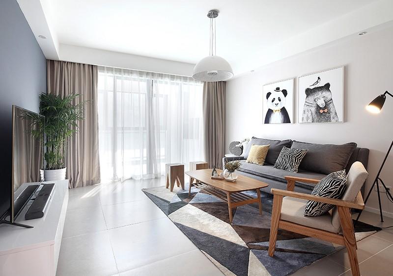 85平米的房子简单装修,全靠软装搭配也能这么美