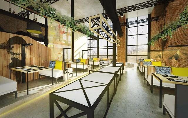 工业风格餐厅设计,黑与白也能装修出多彩的空间!