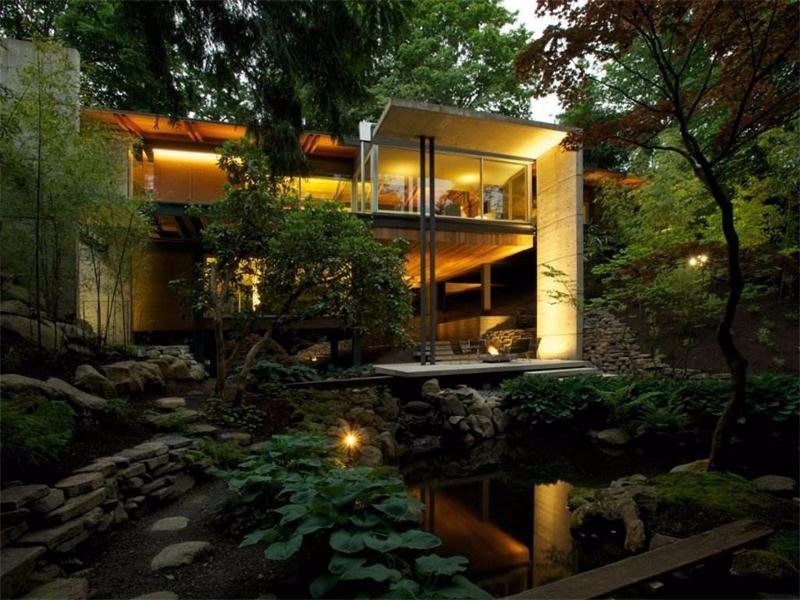 私家庭院设计效果图,这样的品质生活你值得拥有