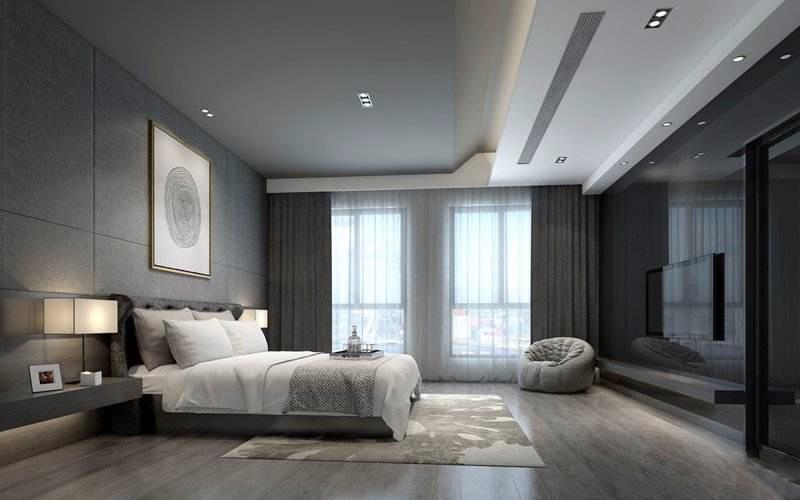 简约现代化卧室,需要细细品味