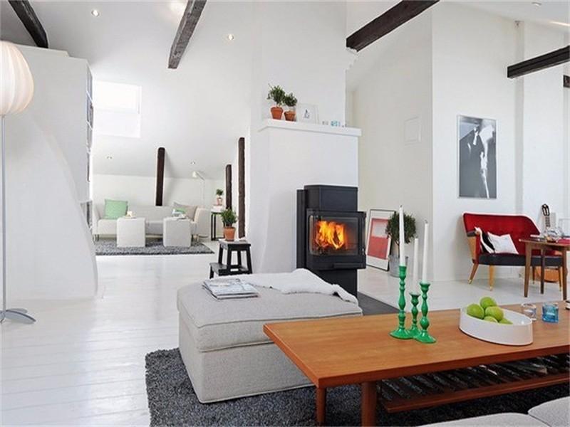 一室一厅装修案例,打造属于你的雅致纯白小家