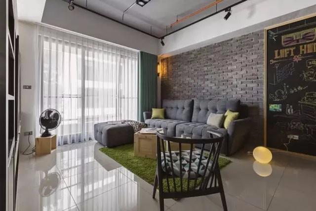 工业风格装修效果图欣赏,喜欢这种冷酷的家具氛围吗?