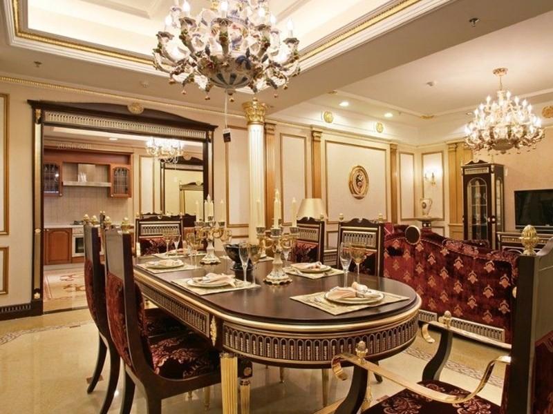 欧式古典风装修的特点是什么?崇尚高贵优雅是其最大的特色
