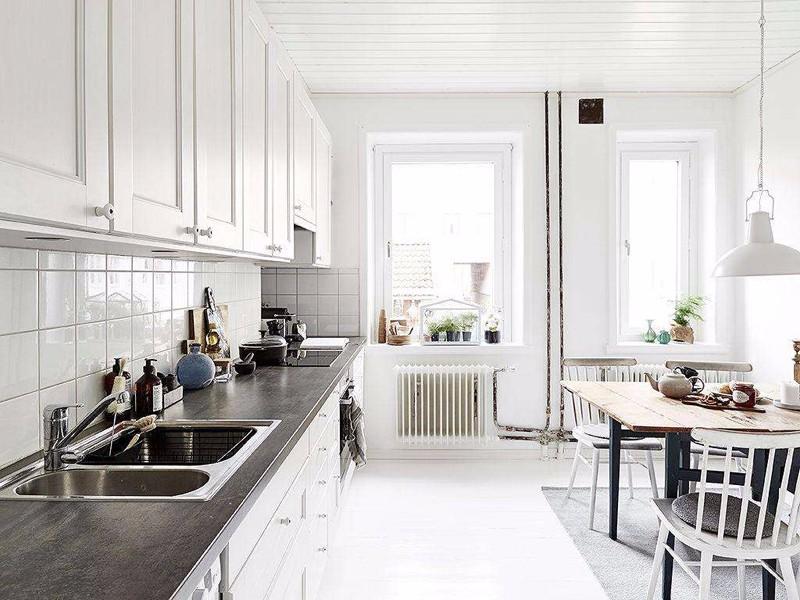 厨房装修技巧,要美观更要收纳!