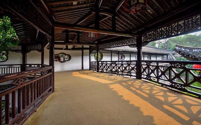 6种中式廊道设计,每种都各有特点