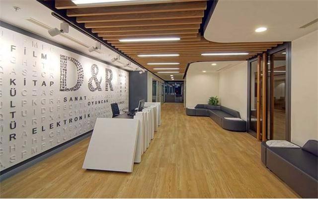 办公室顶面装修效果图,别人家的装修你喜欢吗