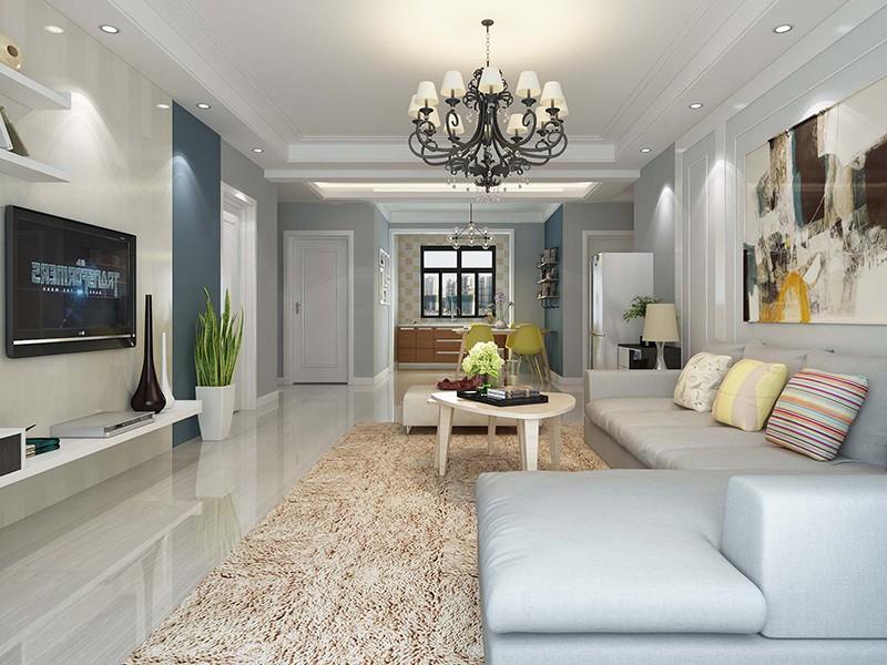 现代简约装修风格,给你一个安静、温润的家!