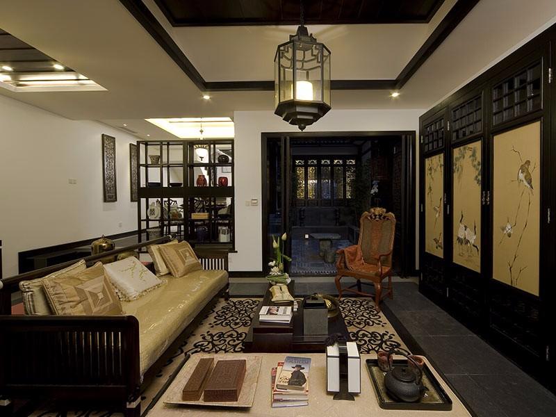 中国式装修风格图片,看传统韵味三房如何塑造
