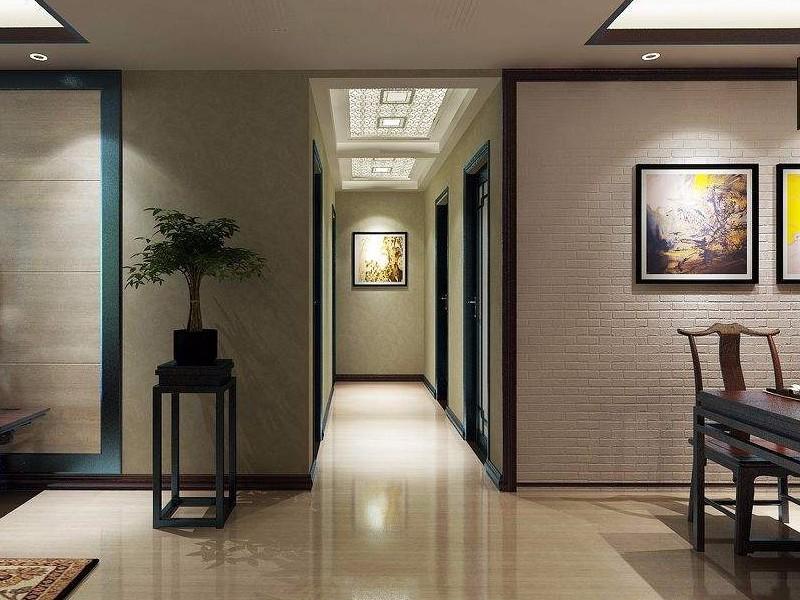新中式端景墙效果图,怎样装修才是最好看呢?