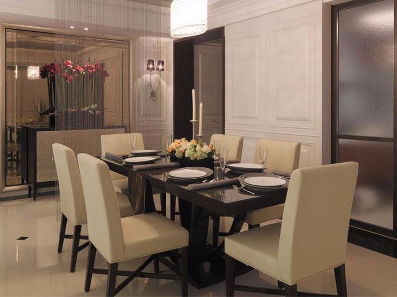 欧美风格餐厅效果图,餐厅装修成这样定能让你食欲大开!