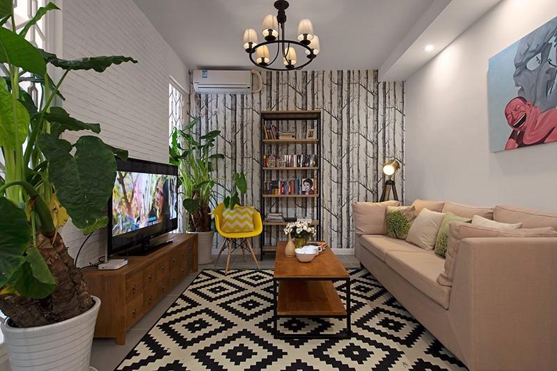 53平米一室一厅装修,体验现代简约风格的空间魅力