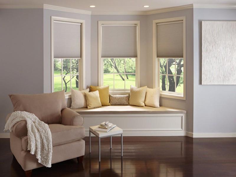 飘窗装修效果图,舒适美观节省空间