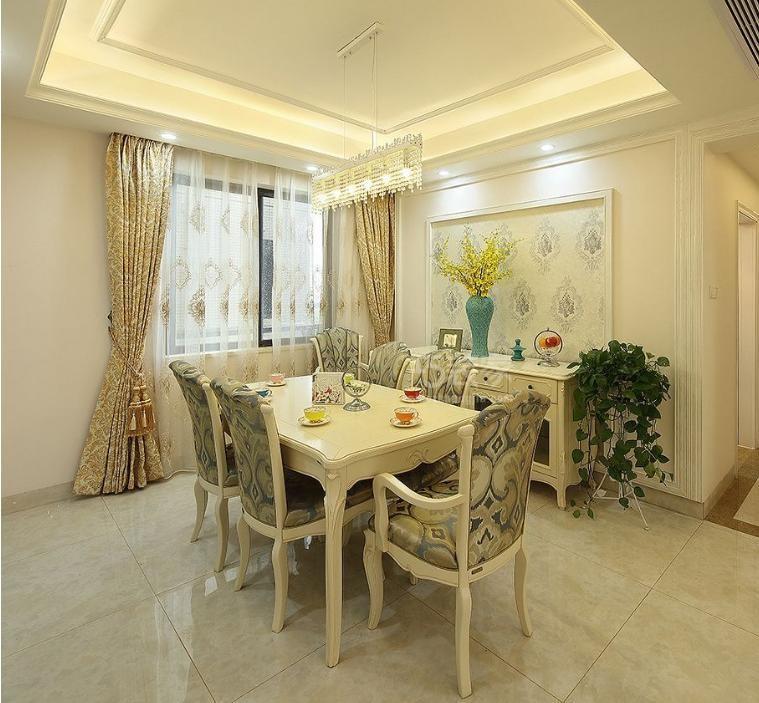 太奥广场三室两厅一卫107平简美装修案例分享