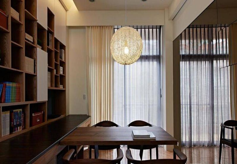 需要规避的书房装修问题:尖角冲射,桌起纳入