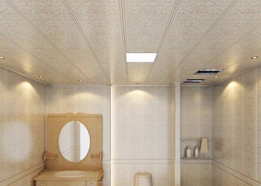 卫生间装修攻略,好的吊顶的重要性!