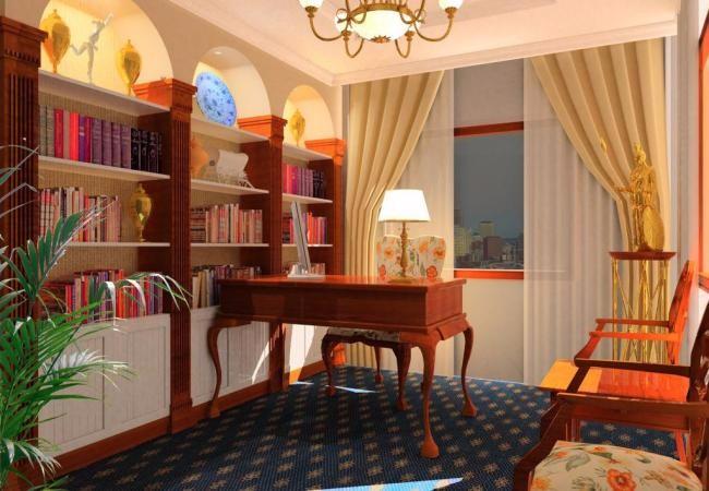 五大书房装修要点!让你的书房活起来