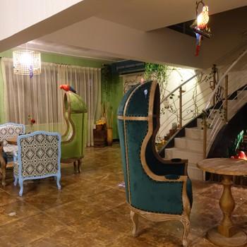 山氏家具客户装修案例--鸟语林咖啡屋