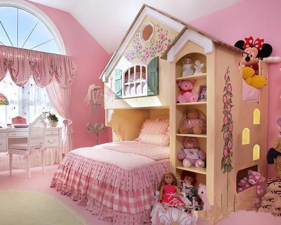 儿童房的安全最重要,你考虑到几点