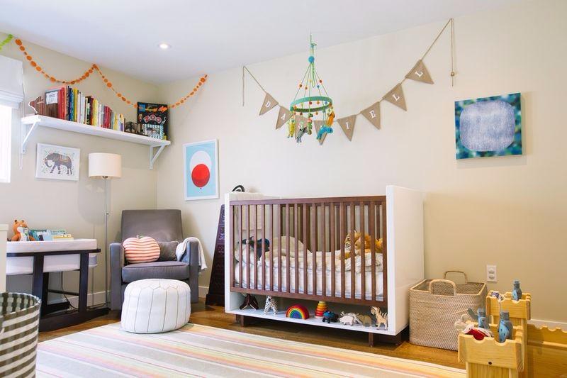 2018年宝宝房就这样设计:安全、环保又舒适!