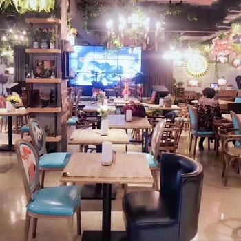 主题餐厅家具是这样搭的