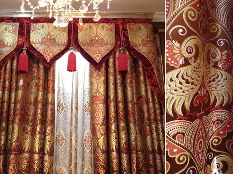 房间窗帘的搭配