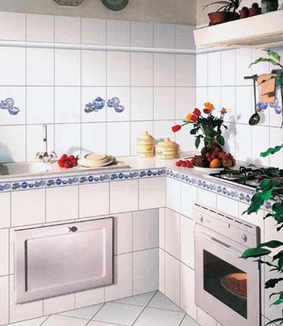厨房铺贴瓷砖 这几大点需要注意