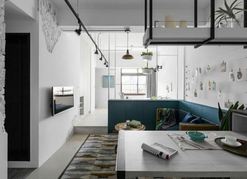动线+採光+开放,打造30平小宅超放大!