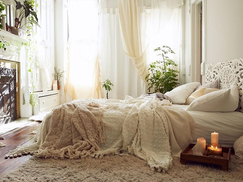 让卧室玩转波西米亚风的七种家居装饰布置