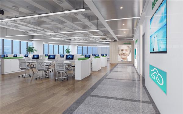 北京办公室装修设计如何选择地板?