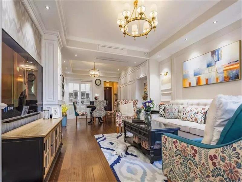 贵阳业主晒刚装修完新家,装超温馨美式三居。