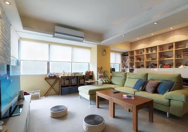 简约开放式书房设计提升家居层次感