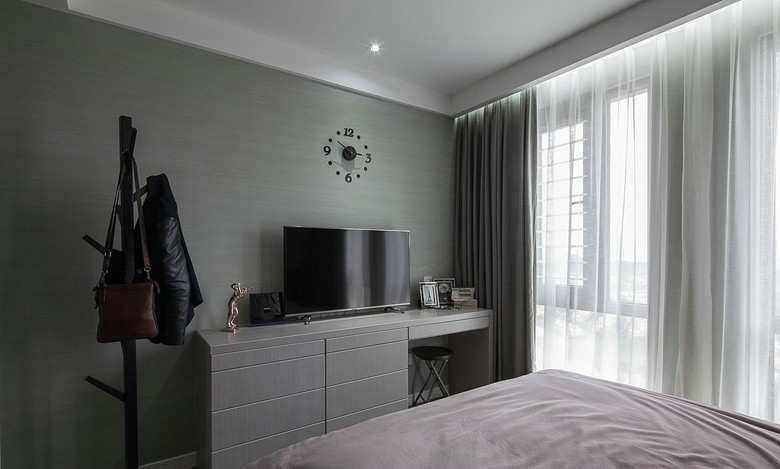 灰色墙纸配什么颜色窗帘,4种颜色营造不一样的风采