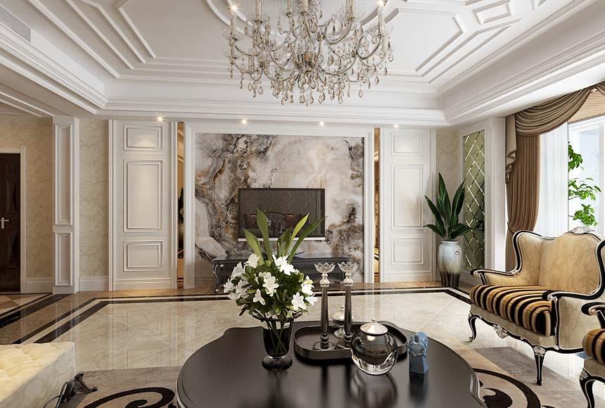 3室2卫2厅139平米欧式风格