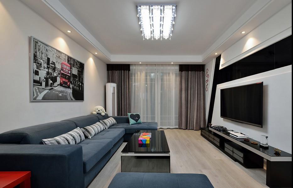 3室1卫2厅111平米现代简约风格