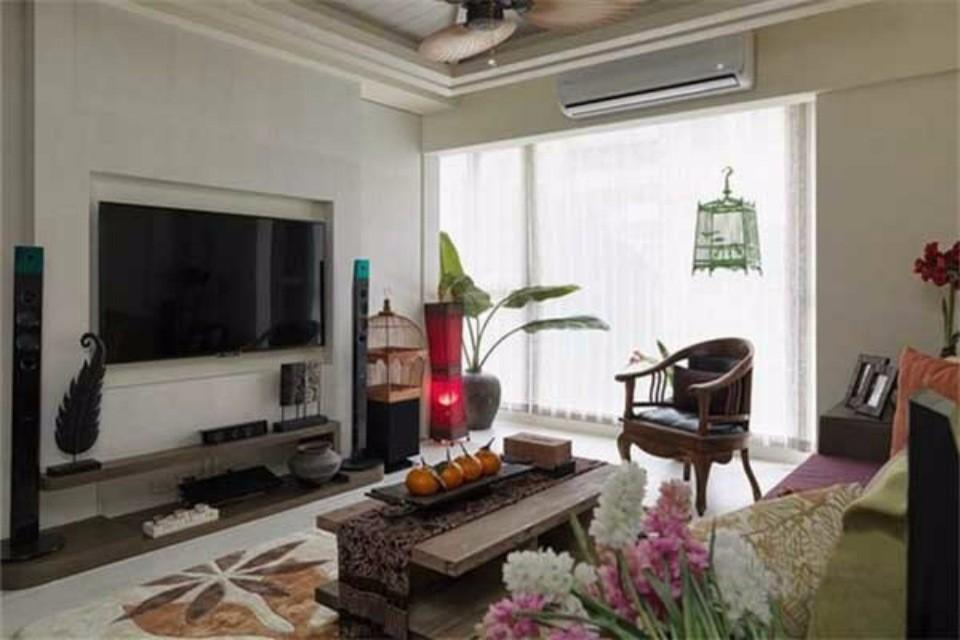 2021东南亚60平米装修效果图片 2021东南亚二居室装修设计