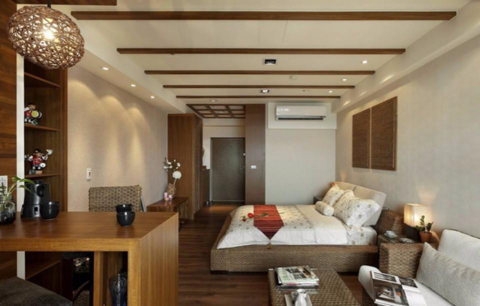 2021东南亚60平米装修效果图片 2021东南亚一居室装饰设计