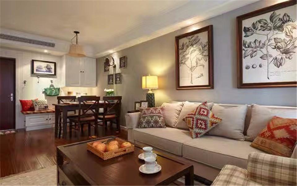 2021简单80平米设计图片 2021简单二居室装修设计
