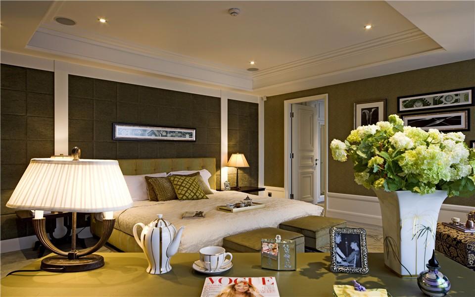 東寶花園123平歐式風格三室兩廳一衛裝修效果圖