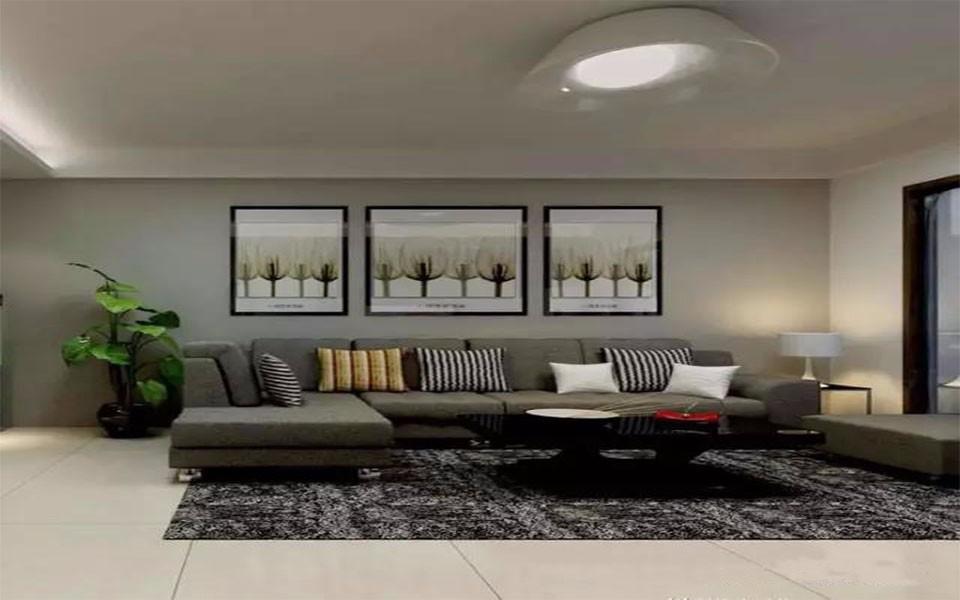 2室1卫2厅88平米现代风格